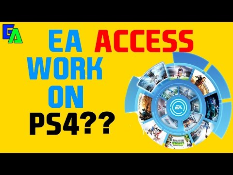 EA Access Work On PS4?