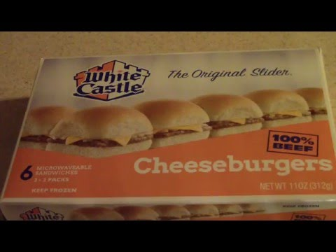 WHITE CASTLE CHEESBURGERS THE ORIGINAL SLIDER
