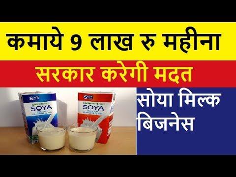 Soya Milk and Soya Paneer/Tofu Making Business
