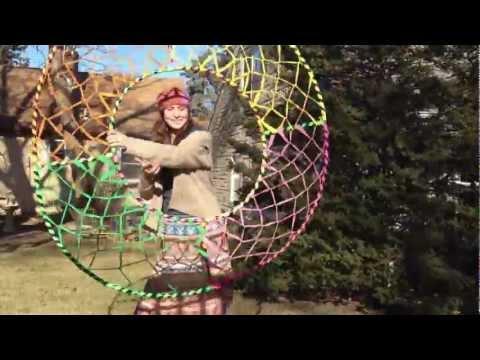 Giant Hoop Dream Catcher Hoop Woven Hoop