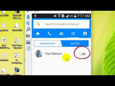 How to be invisible in Facebook messenger Android app