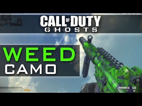 Call of duty ghosts free weed camo code xbox 360 xbox one ps3 ps4