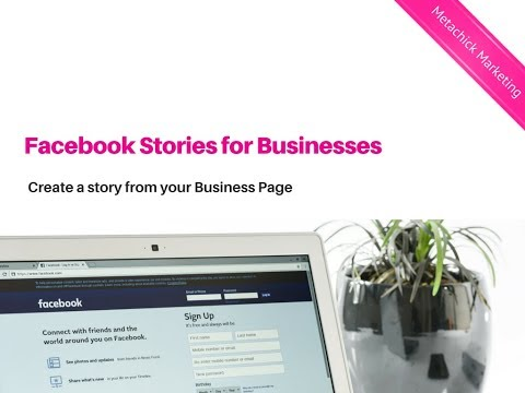 How to add a story to Facebook Business Page