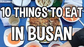 Download Top 10 Things to Eat in Busan, Korea Video
