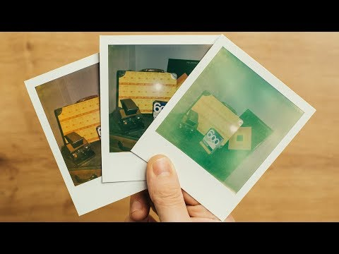 How does TEMPERATURE affect POLAROID FILM - From freezing cold to boiling hot
