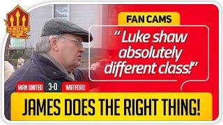RICKY LUKE SHAW MOTM AGAIN Manchester United 3 0 Watford Fancam