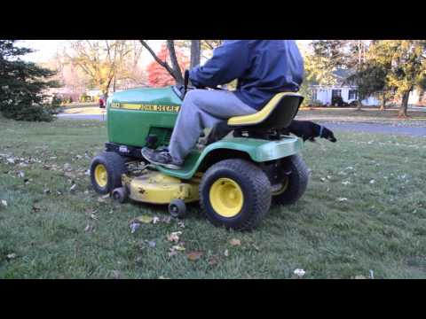 Equipment Review - Barn Find! John Deere 160 Riding Mower with Demonstration