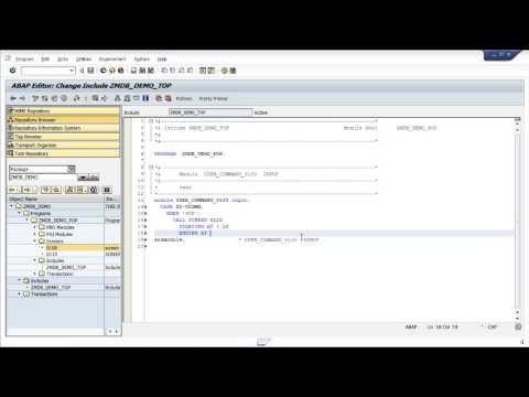 ABAP: Modal Dialog Box