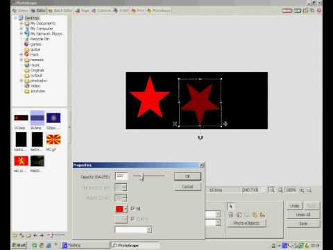 How to make logo with PhotoScape