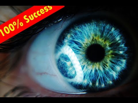 GET BLUE EYES IN 10 MINUTES!  CHANGE YOUR EYE COLOUR! 99.99% SUCCESS RESULT