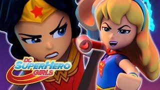 LEGO Brain Drain | Battling Brainwashed Supers | DC Super Hero Girls