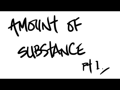 AQA A-Level Chemistry - Amount of Substance Pt. 1 (moles, concentrations and masses)