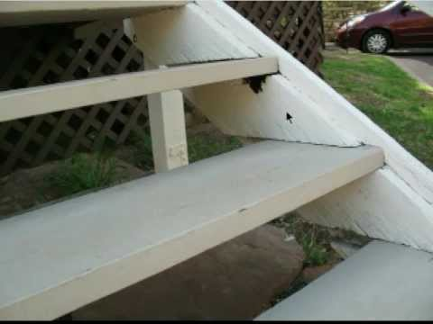 Using Wood Blocks Instead of Metal Brackets - Stair Building