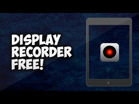 Display Recorder 1.3.14/1.3.11 For IOS 5-6-7-8/8.1.2/8.3/9.3/10  ***FREE*** | May 2017