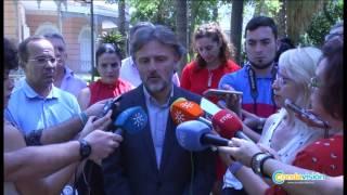 Fiscal con alcaldes de Doñana