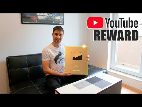 Unboxing Golden Play Button [1 Million Subscribers Reward]