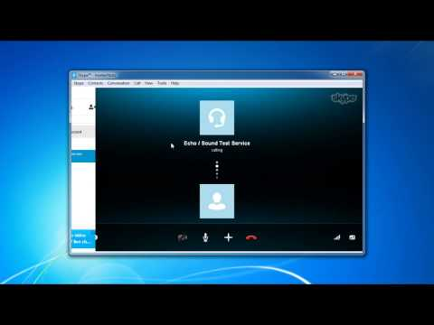 How to Make Skype Sound Test