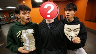 WE PAID the GAME MASTER $10,000 to TAKE OFF his MASK! (CRAZY)