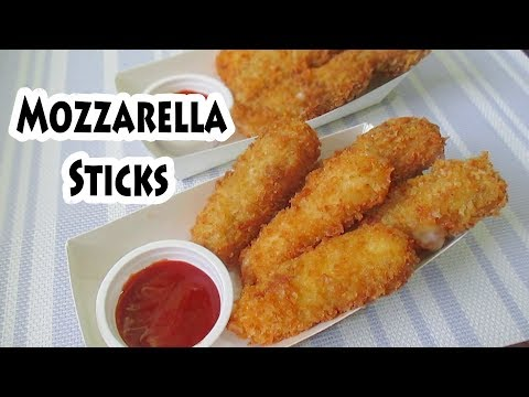 How To Make Mozzarella Sticks Pinoy