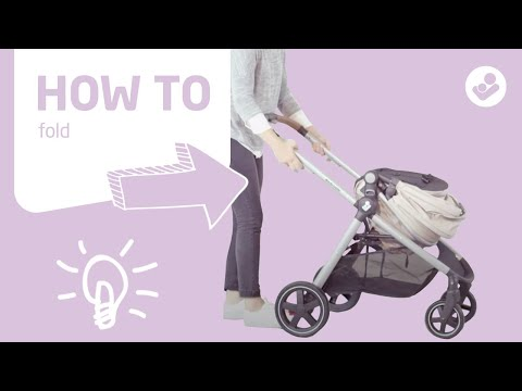 Maxi-Cosi | Zelia stroller | How to fold