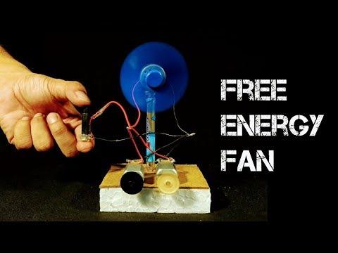 Free Energy Table Fan - Using Piezo Igniter