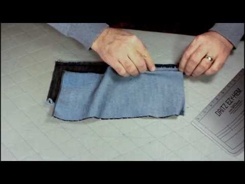 Example of One Way to Sew A Professional Flat Felled Seam on a Home Sewing Machine