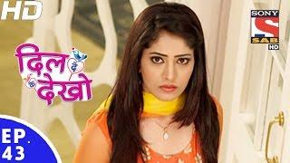 Dil Deke Dekho - दिल देके देखो - Episode 43 - 16th December, 2016