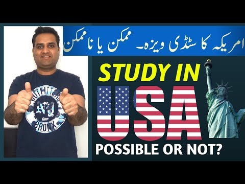 Study in USA for Pakistani and Indian Students