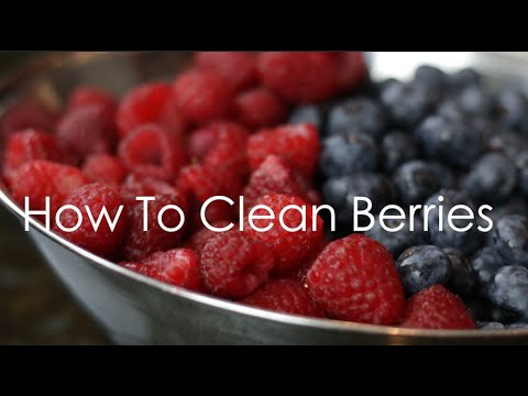 How To Clean Berries