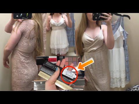 MAKEUP & DRESS SHOPPING VLOG + HAUL