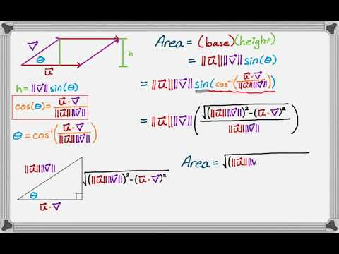 Vectors, Parallelograms, Triangles, Determinants, and Areas