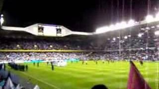 Tottenham Hotspur Vs Aston Villa - villa chants