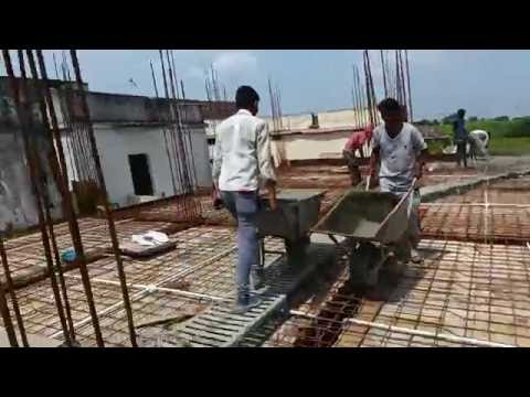 Concrete Slab By Mixer Machine (with lift)