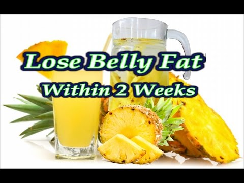 Pineapple for weight loss, Fat flush detox water, Morning weight loss drink for quick weight loss