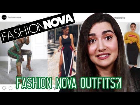 Wearing Fashion Nova Outfits For A Week