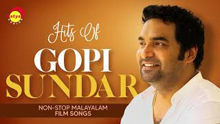 Hits of Gopi Sundar | Nonstop Malayalam Film Songs