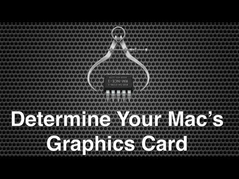Determine Which Graphics Card Your Mac Is Using