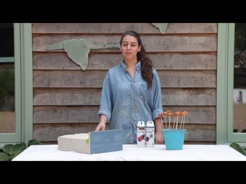 How to transform an old chest of drawers with PlastiKote spray paint