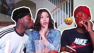 I K!SSED My Angry Little Cousin's Crush IN FRONT OF HIM! *GONE HORRIBLE*