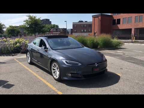 Can a Tesla drive 300+ km without charge? & Charging heaven in QC!