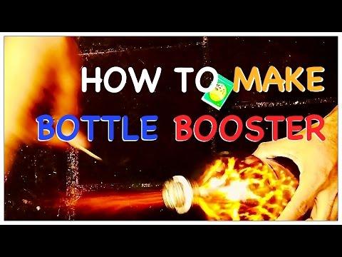 FIRE BOTTLE BOOSTER - Blaze from bottle like a rocket booster ha..ha video