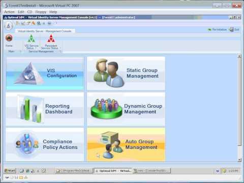 Optimal IdM's Virtual Identity Server - Health Check