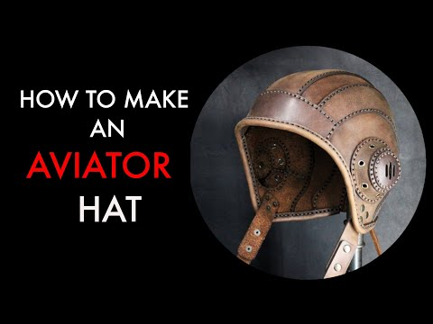 aviator cap tutorial and pattern download