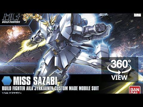 [360°Degree] HG 1/144 Miss Sazabi