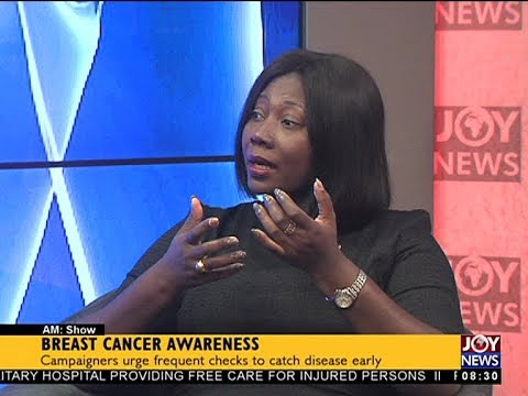 Breast Cancer Awareness - AM Show on JoyNews (9-10-17)