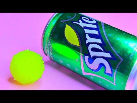 DIY Bouncy Ball Made With SPRITE!