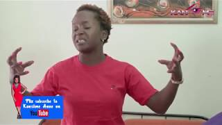 The scary tickle. Kansiime Anne. African comedy.