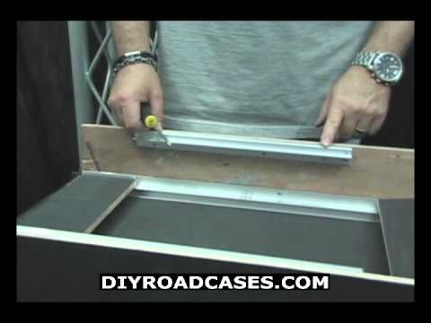 DIY Road Cases ® Featuring Larry Cox - DJ Sliding Laptop Deck