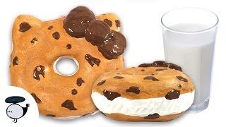 Diy Deco Squishy Tutorial Chocolate Chip Cookie Sandwich