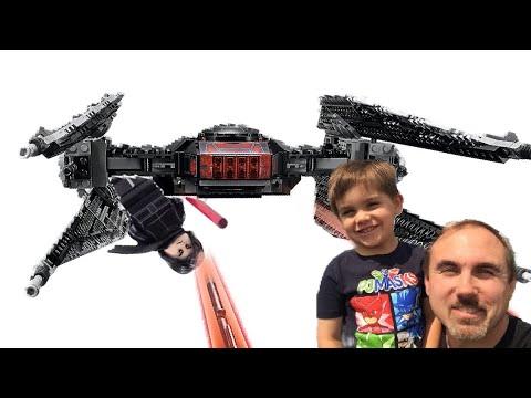 Kylo Ren The Last Jedi Tie Fighter Lego Vlog - Kit 75179